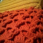 Knitted pillowcase side